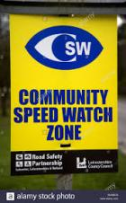 Community Speed Watch A6 locations