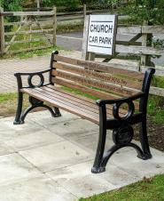 New bench installed on Church Road